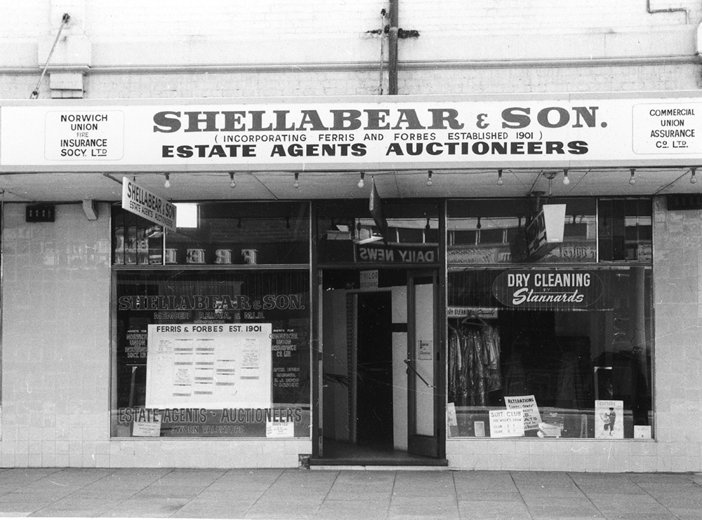 Shellabears and Son original Cottesloe Real Estate Agency