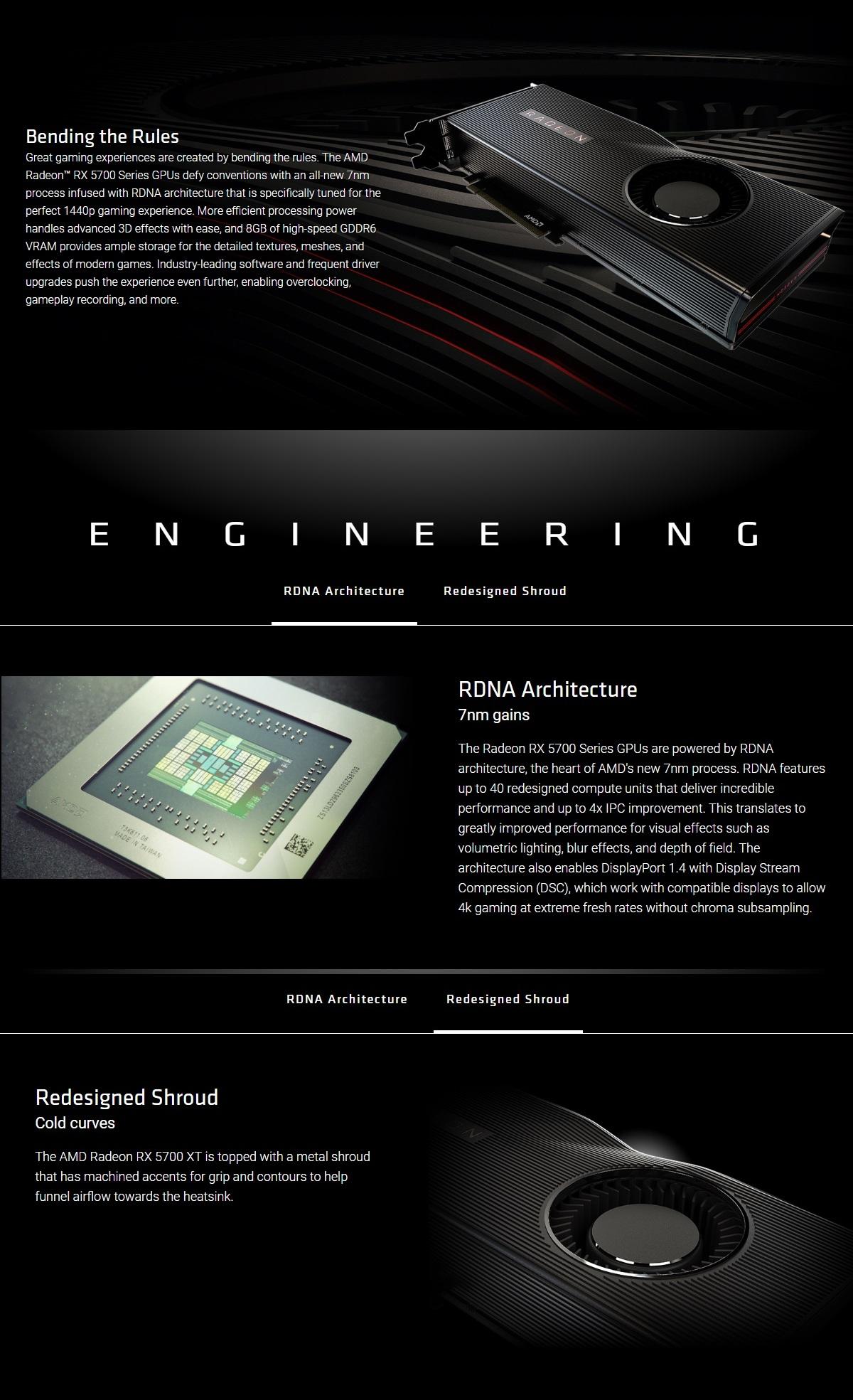 Asus Radeon RX 5700 XT 8GB Gaming Graphics Card