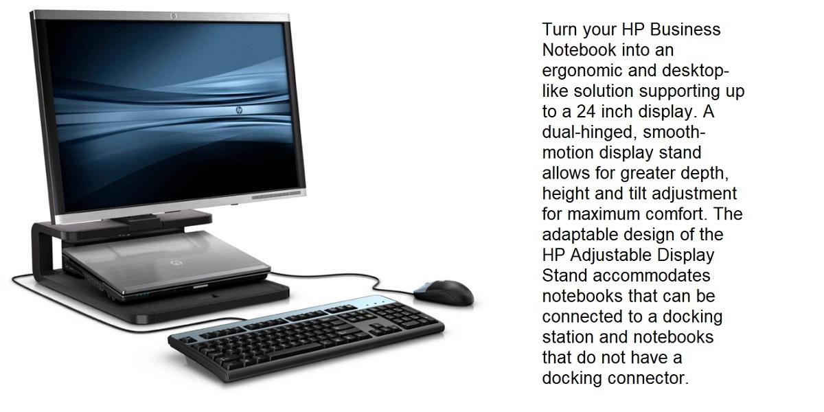 HP Adjustable Display Stand AW663AA