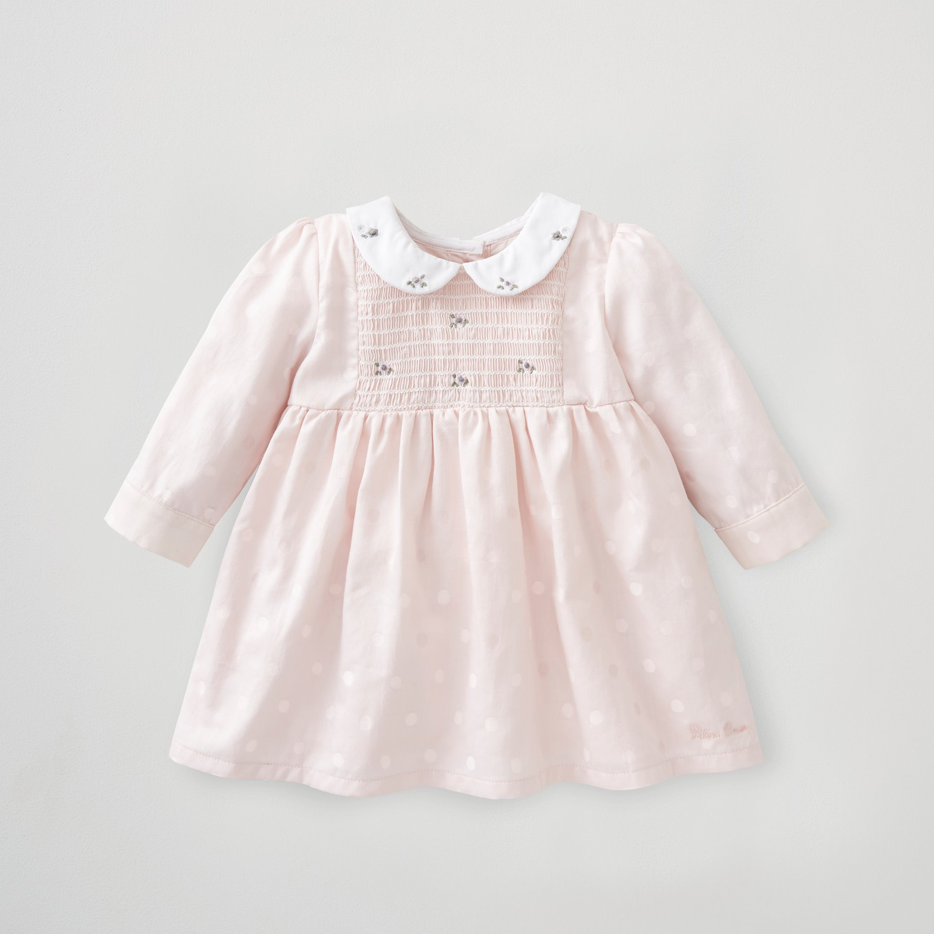 Embroidered Smock Dress 3-6 Months