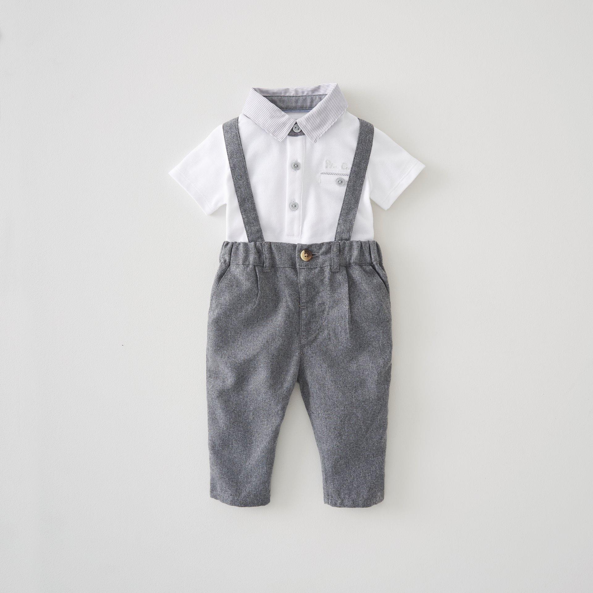 Polo & Trouser Set 9 - 12 Months