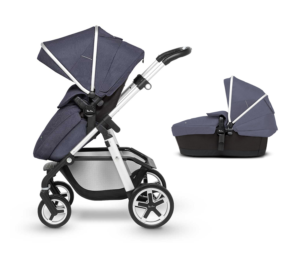 Pioneer Midnight with carrycot