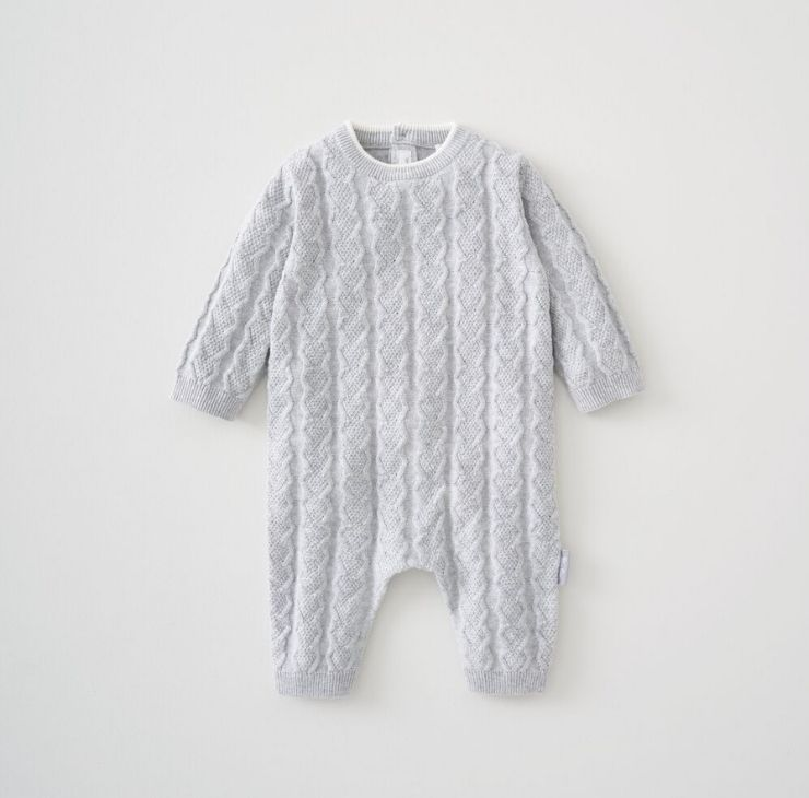 Cable Knit Romper 0-3 Months