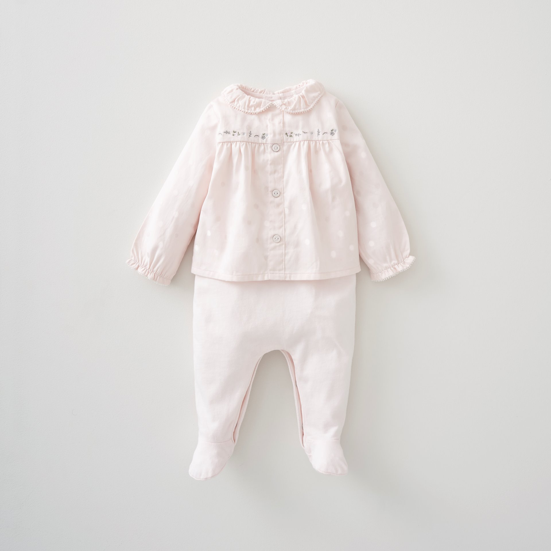 Jacquard Blouse All in One 6-9 Months