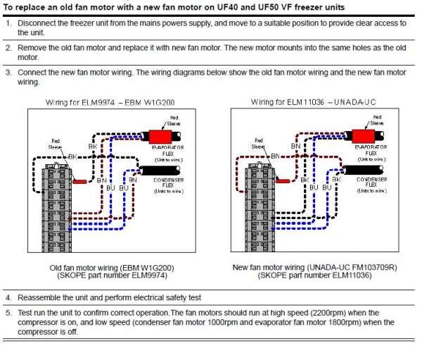 on fan motor schematic diagram