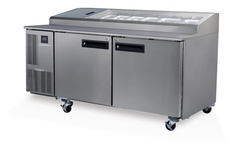 PG500 pizza fridge