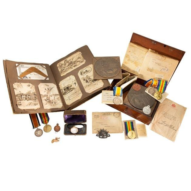 Collection relating to the Haskew and Spencer families, 1914–1918 and 1939–1945