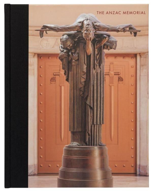 """Cover art featuring Rayner Hoff's sculpture """"Sacrifice"""" in the Memorial's Hall of Silence. Photograph courtesy Kerrin Lovell"""