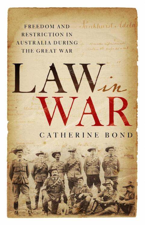 'Law in War' is the second book from UNSW Associate Professor Catherine Bond