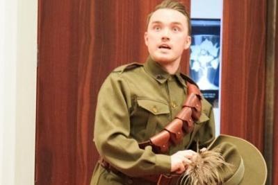 Actor Tristan in shock