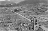 Hiroshima, Japan 1946 - the landscape the Australian BCOF contingent marched into.