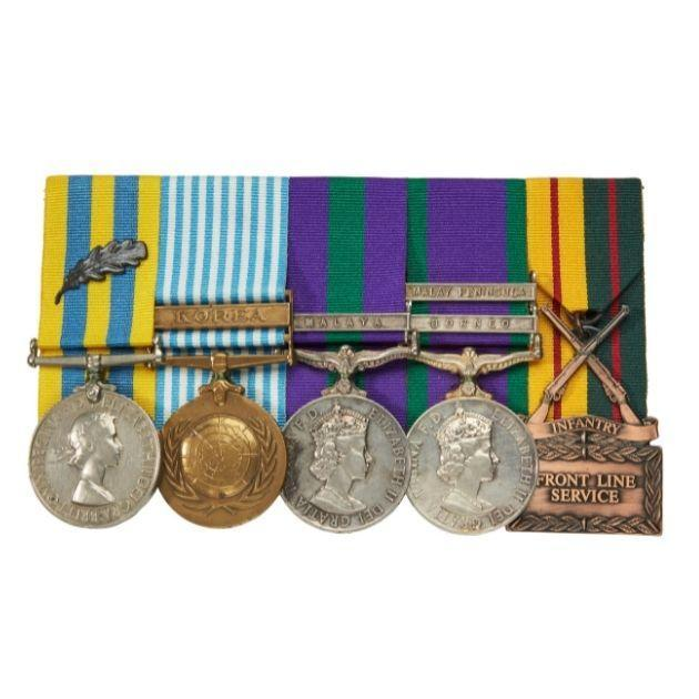 """Medals relating to Private Edgar """"Eddie"""" Wright, 1939–1965"""