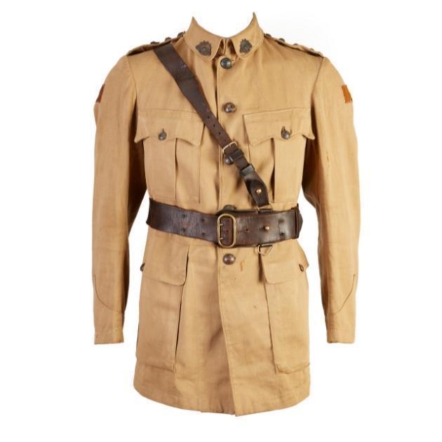 Tunic belonging to Captain George Redfearn Hamilton, c. 1917