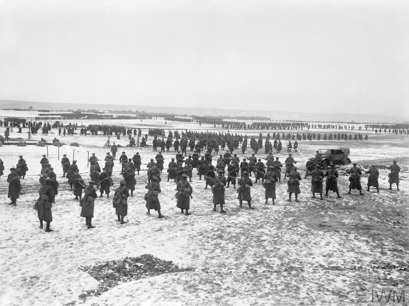Etaples training camp - courtesy Imperial War Museum