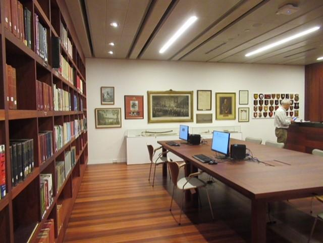 The Library's Reading Room