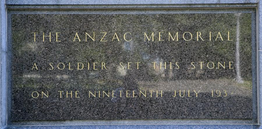 The foundation stone set by Sir Phillip Game,  Governor of NSW