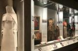 Centenary Exhibition showcase showing items explaining the history of the Medical Corps