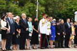 Special guests the Duke and Duchess of Sussex, Governor of NSW and Mrs Hurley, Premier of NSW, Australian Prime Minister and Mrs Morrison, Minister for Veterans Affairs and Mrs Elliott, Lord Mayor of Sydney and Mr Moore, and RSL State President and Mrs Brown during the opening ceremony