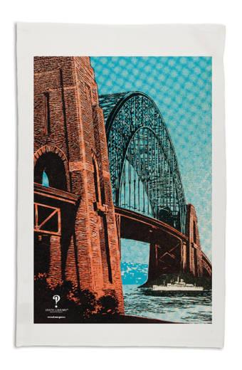 Sydney Harbour Bridge tea-towel