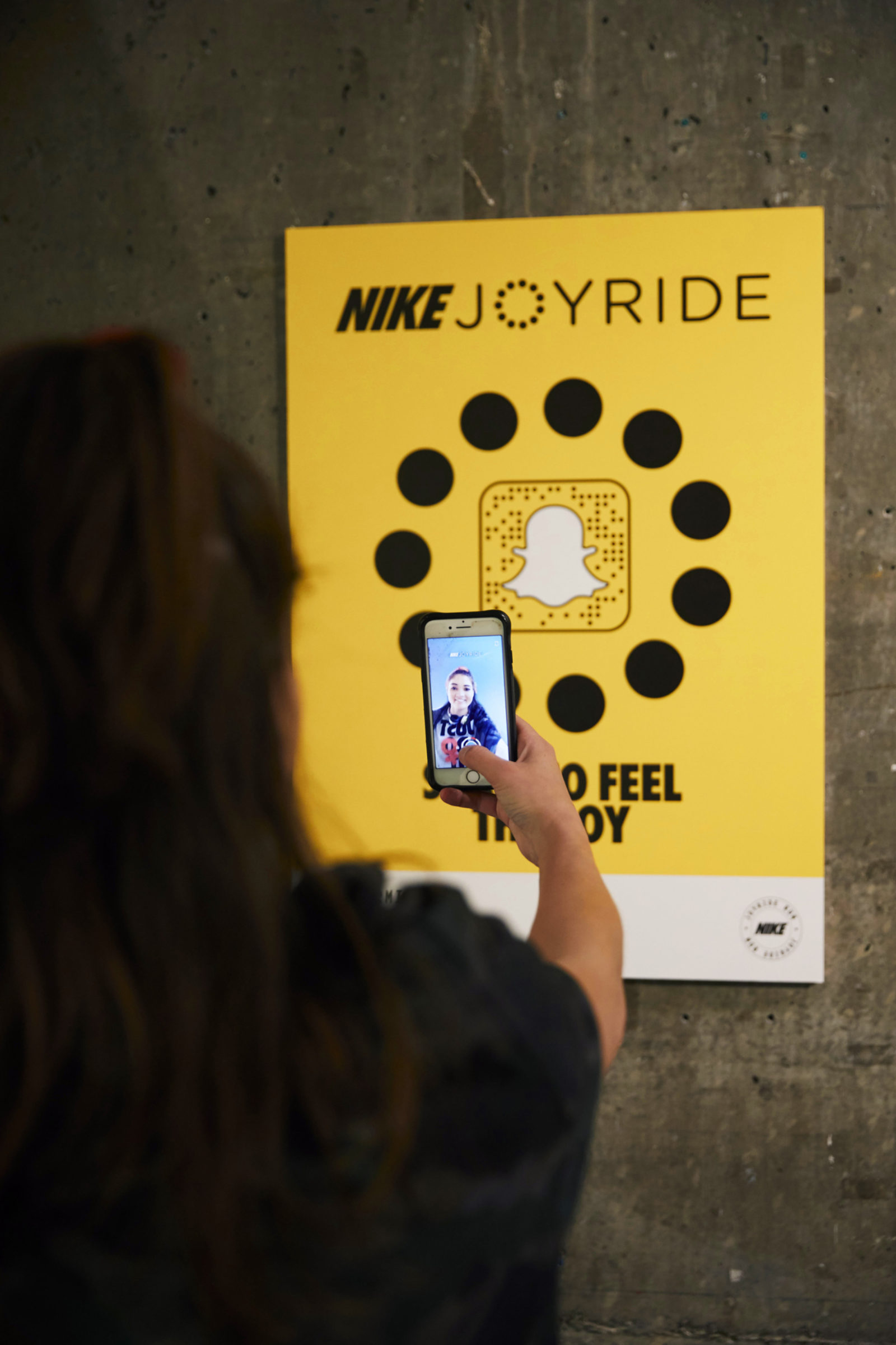Space between nike joyride lab snapchat 01