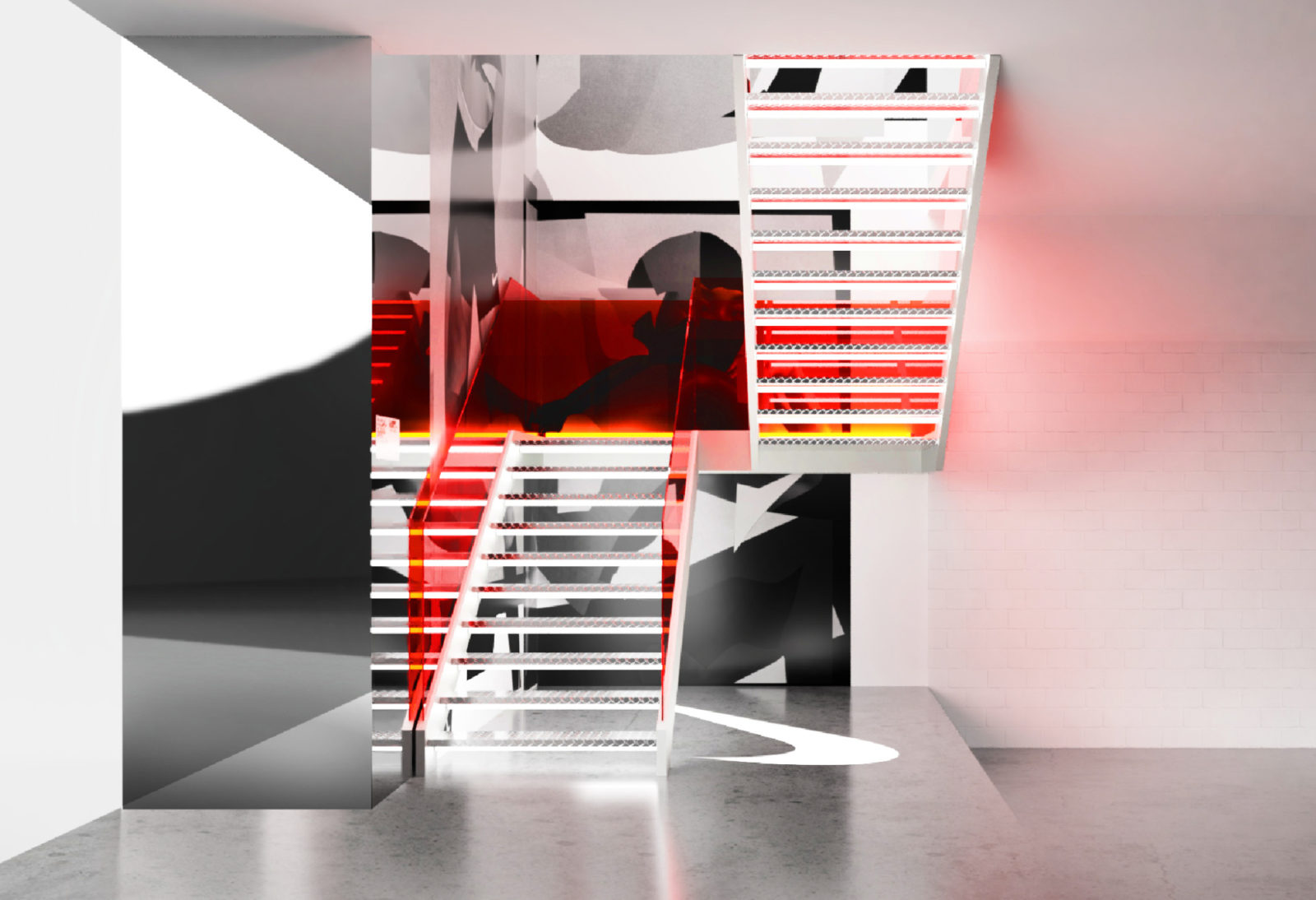 Space between nike melb central flagship renders 15