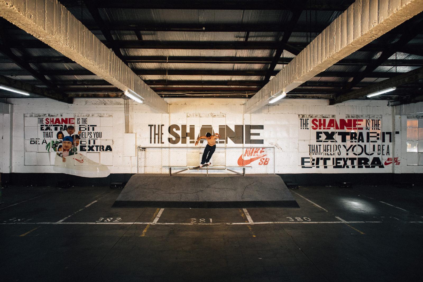 Space between nike skateboarding the shane 35