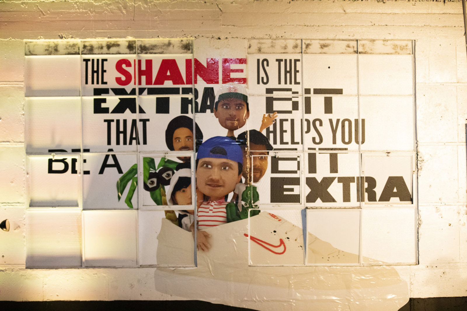 Space between nike the shane 14