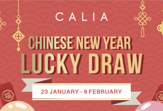Default calia cny lucky draw promo box
