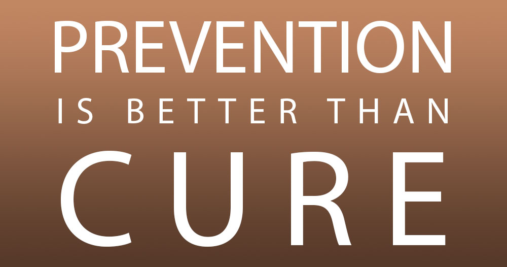 Prevention Is Better Than Cure Quotes: Sirius College Career Development