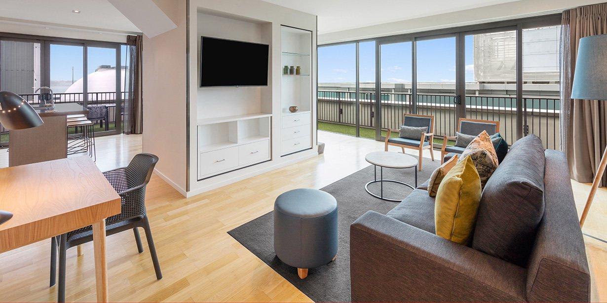 Adina Apartment Hotel Auckland Britomart Two Bedroom Premier