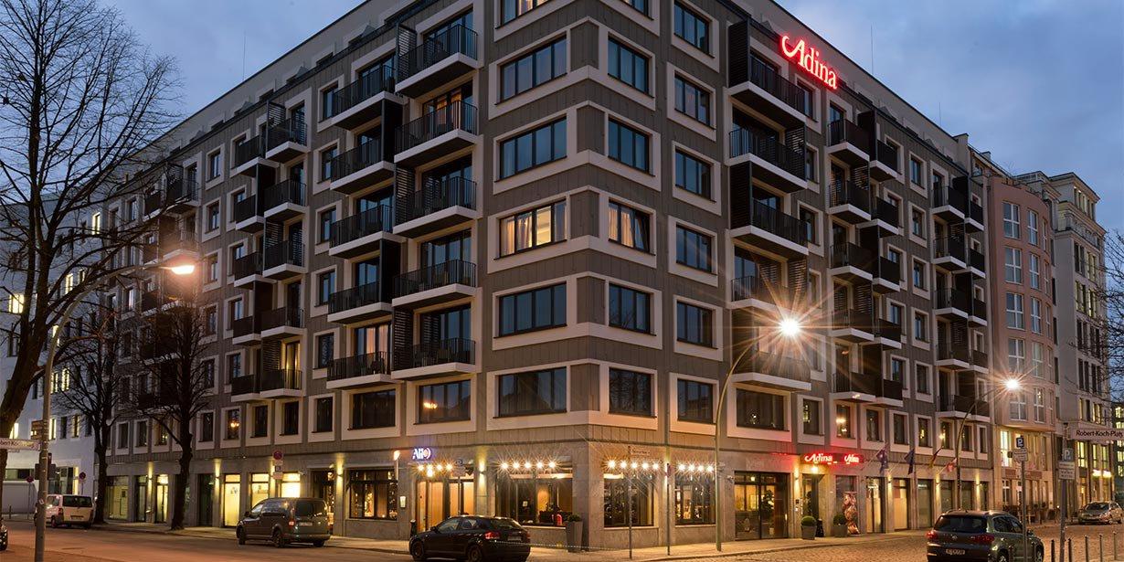 Adina Apartment Hotel Berlin Platz Vor Dem Neuen Tor
