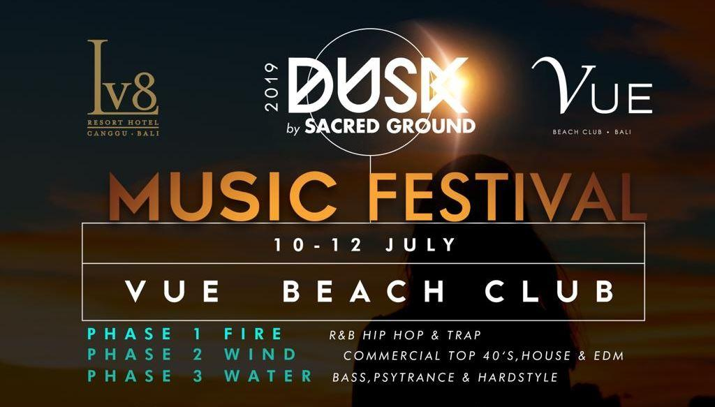 Dusk By Sacred Grounds Festival | The Bali Bible