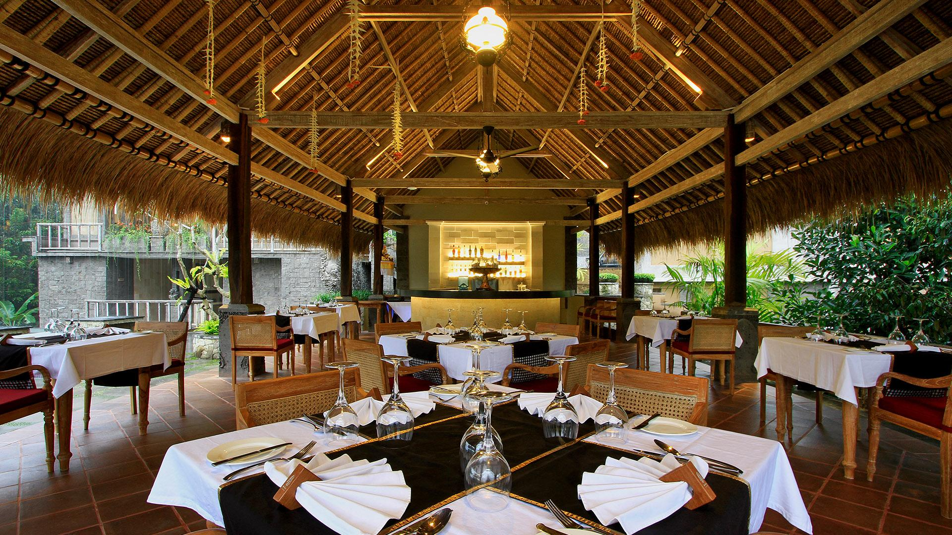 Kepitu Restaurant at The Kayon Resort
