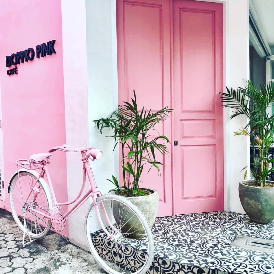 Doppio Cafe Pink