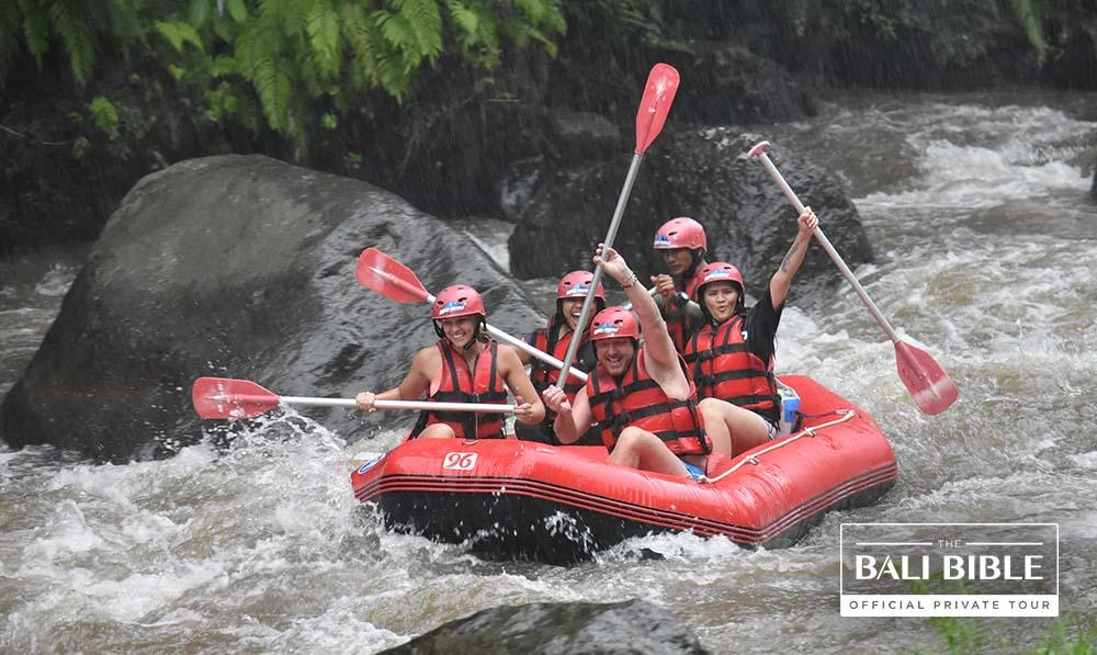 Jungle River Rafting by The Bali Bible