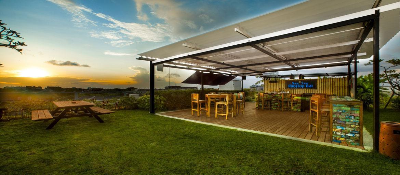 Solar Lunar Rooftop Bar