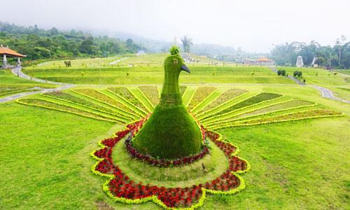 The Blooms Garden Ulun Danu Bedugul