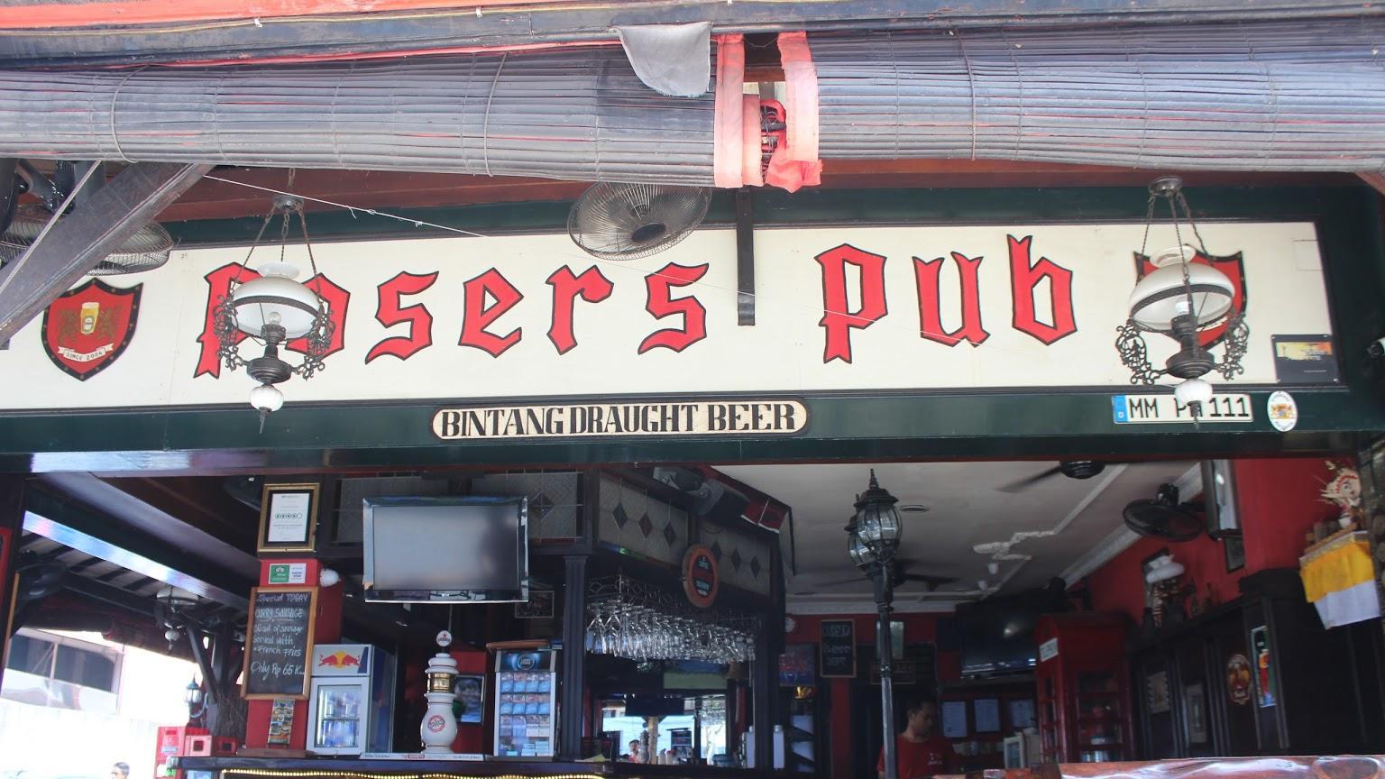 Posers Pub & Restaurant Legian