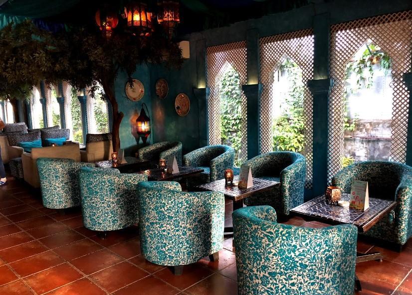 Shisha Cafe arabian food