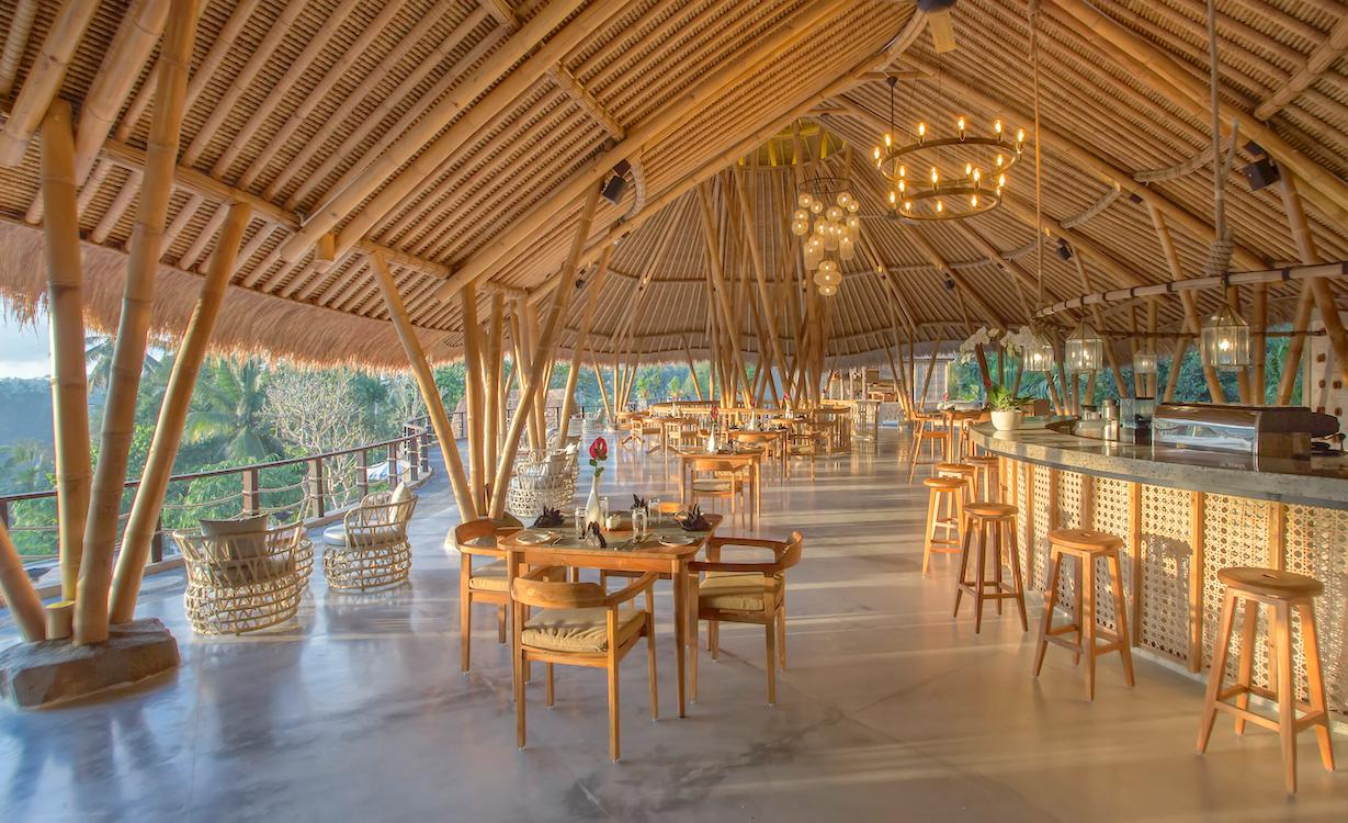 Kepitu Bar & Lounge at The Kayon Jungle Resort by Pramana