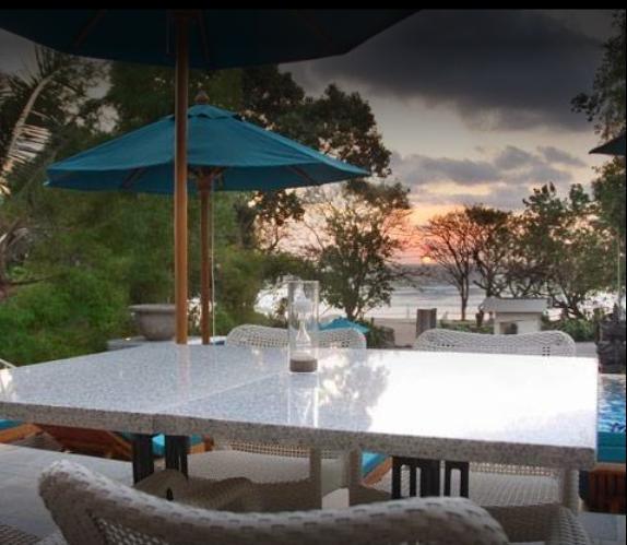 Beachfront Thai Restaurant In Bali