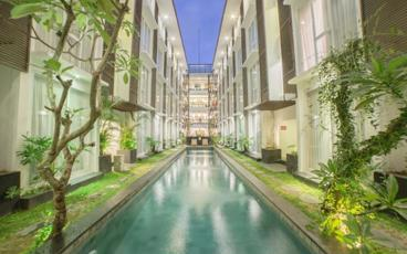 Enjoy a 5, 7 or 9 Night Stay in the Heart of Seminyak at The Alea Hotel