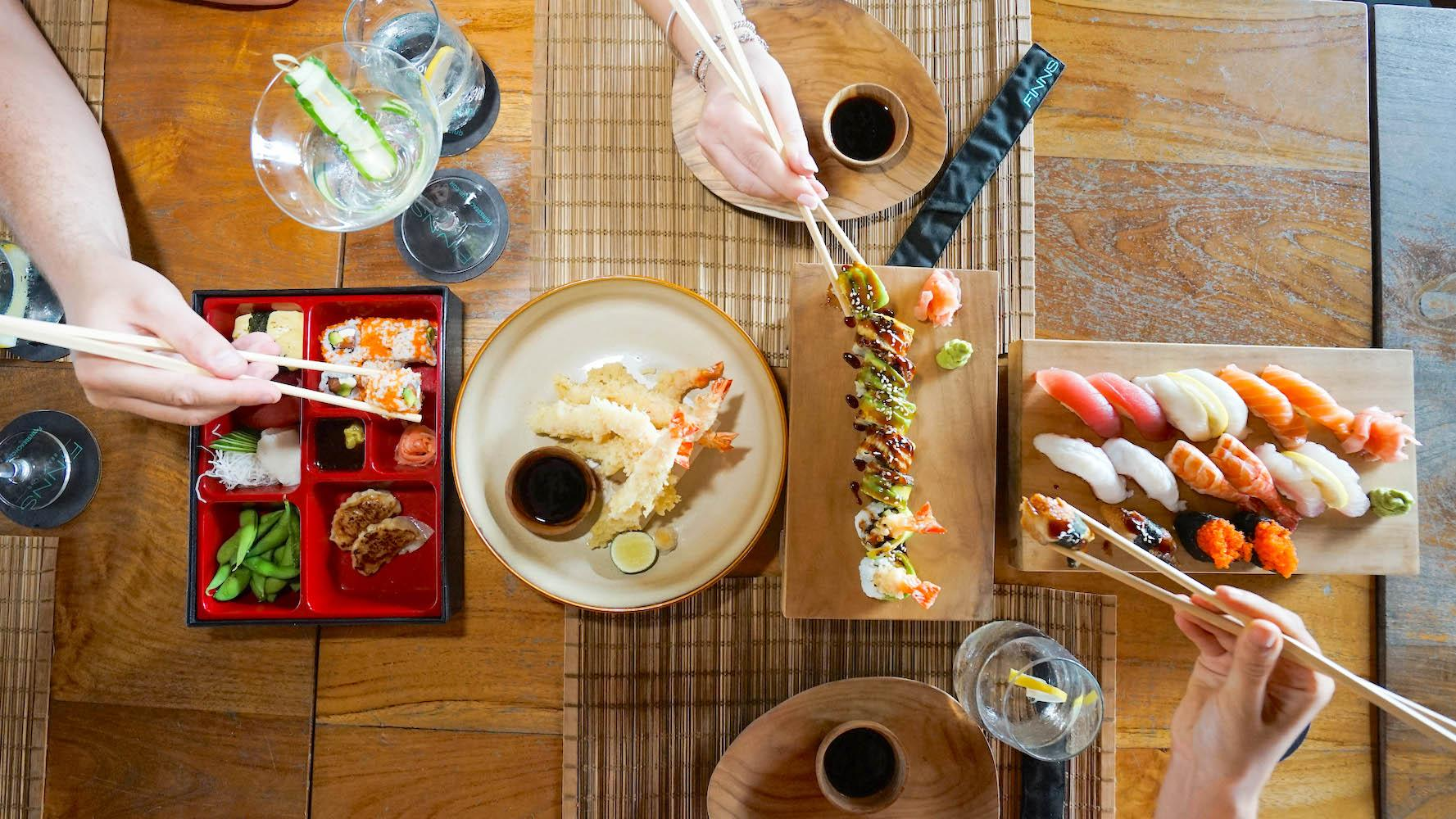 Sushi Bar – Located at Finns Beach Club