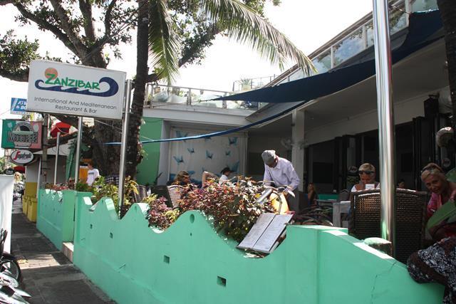 Zanzibar Beach Front Restaurant