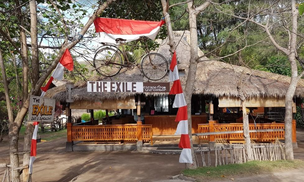 The Exile Beach Bar Gili Trawangan