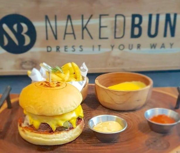 Naked Bun Canggu Burger