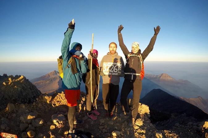 4-Day Mt Rinjani Volcano Trekking Tour from Lombok
