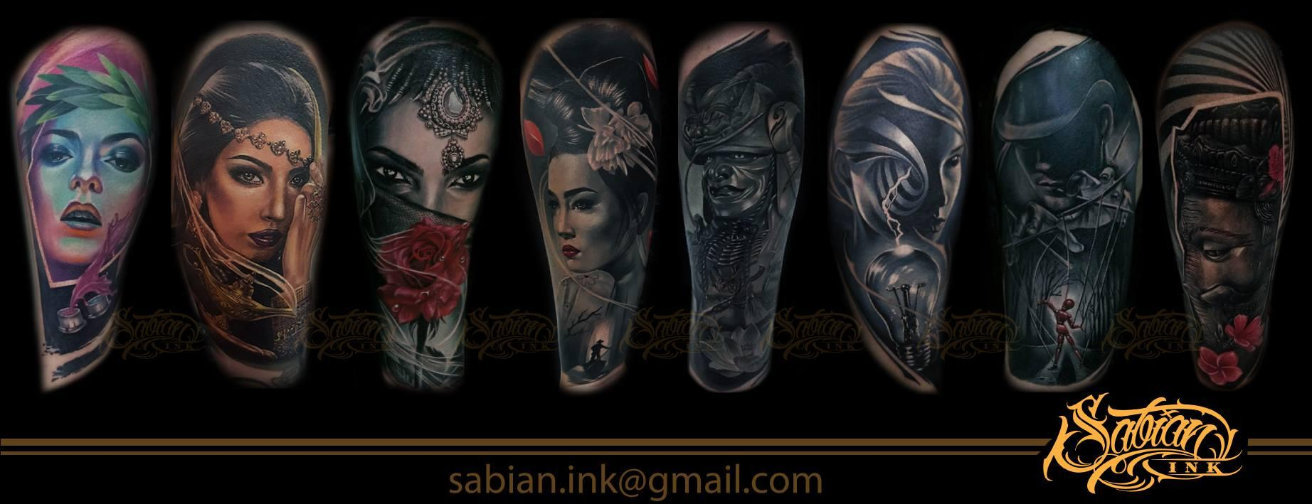 Sabian ink