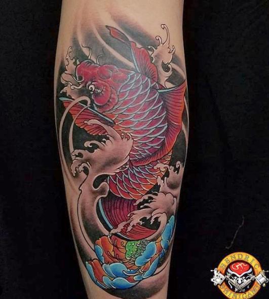 Hendric Shinigami Tattoo Bali