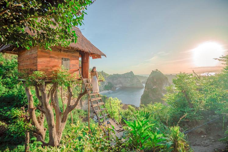 Molenteng Treehouse - Rumah Pohon Nusa Penida